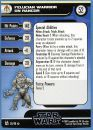 50 - Felucian Warrior on Rancor [Star Wars Miniatures - The Force Unleashed] [Carte Seule]
