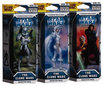 Booster Star Wars Miniatures - The Clone Wars