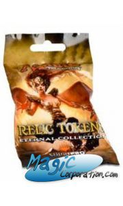 Magic: The Gathering Booster Relic Tokens - Eternal Collection (3 Tokens)